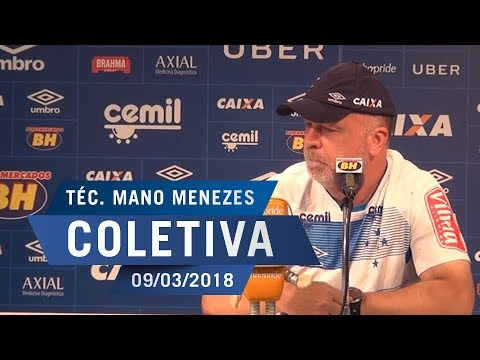 09/03/18 - Coletiva: Mano Menezes