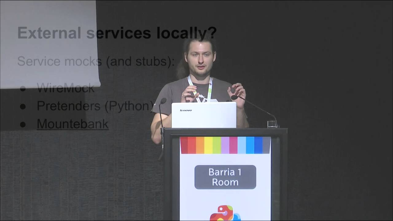 Image from TDD of Python microservices