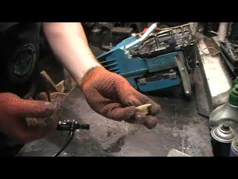 Не подаётся масло на цепь бензопилы  Чистка и ремонт системы смазывания