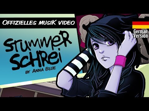 Anna Blue- Stummer Schrei (official German Music video)