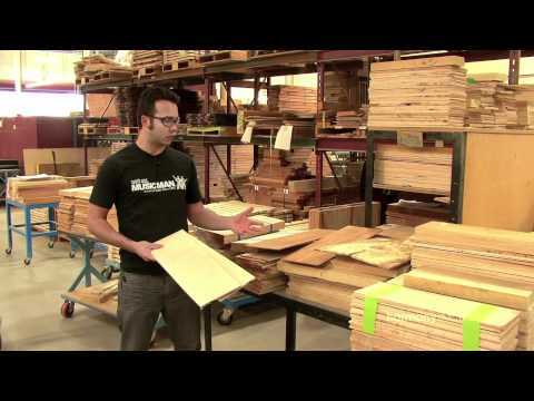 Ernie Ball Music Man Factory Tour part 1