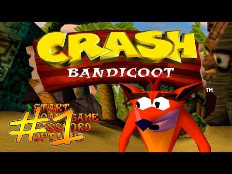 Прохождение Crash Bandicoot (PS) #1 - Остров South Padre