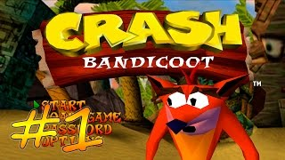 прохождение Crash Bandicoot (PS) #1 - Остров South Padre