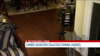 Lumber Liquidators could face criminal charges