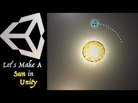 """Let's Make A Game In Unity - Tutorial #2 """"The Sun""""🌞 thumbnail"""
