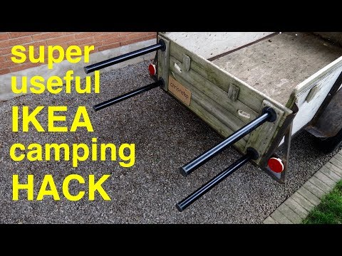 Incredibly Useful Camping Trailer Tip ● IKEA Hack