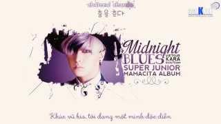 [SuJu Team@360Kpop][Vietsub+Kara] Super Junior - Midnight Blues