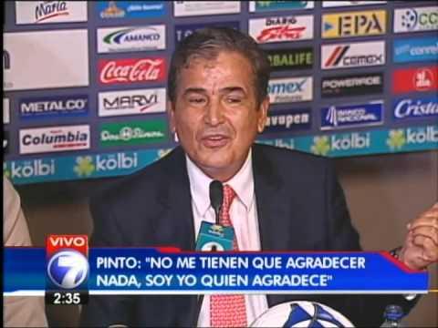 Jorge Luis Pinto Renuncia como entrenador de Costa Rica