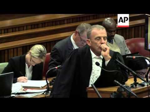 Latest from Pistorius trial