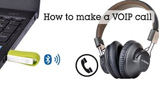 Avantree Leaf--How to make a VOIP call