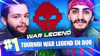 TOP 1 EN TOURNOI WAR LEGEND EN DUO AVEC ADZ !