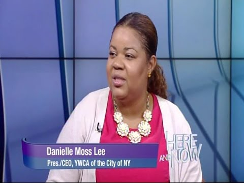 Dr. Danielle Moss Lee, President & CEO of the YWCA New York