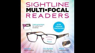 Sightline R406 Multifocus Reading Glasses