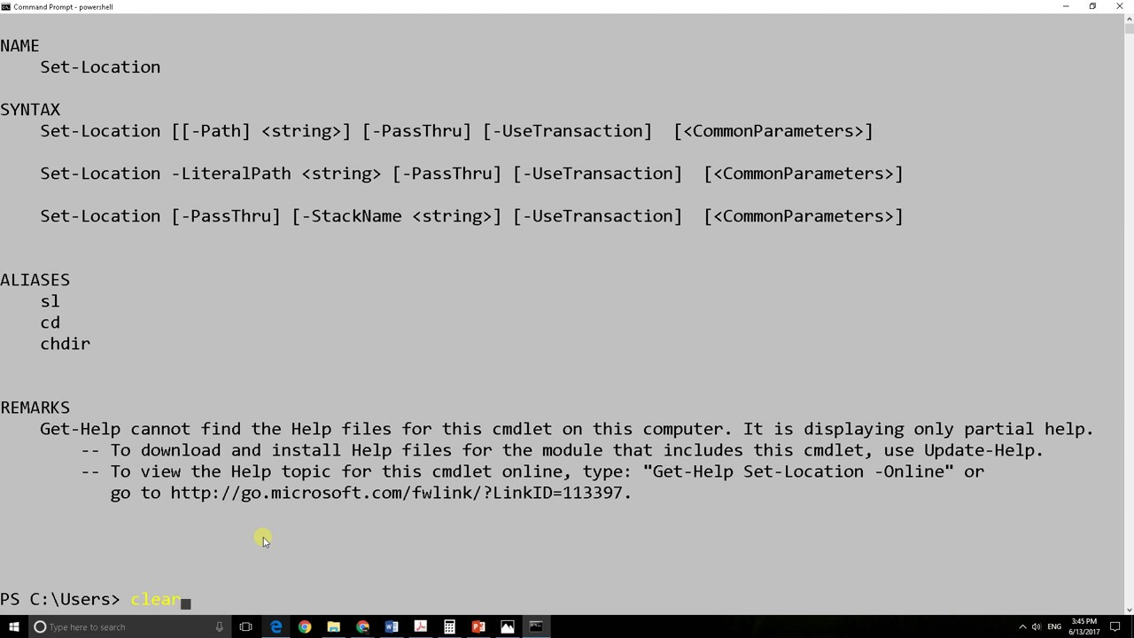 How to open powershell in command line✔️