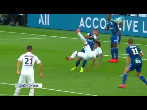 Неймар вернулся и забил ГОЛ ЧЕРЕЗ СЕБЯ в добавленное время. ПСЖ - Страсбург