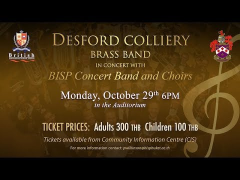Desford Colliery Band Monday 29th October 2018