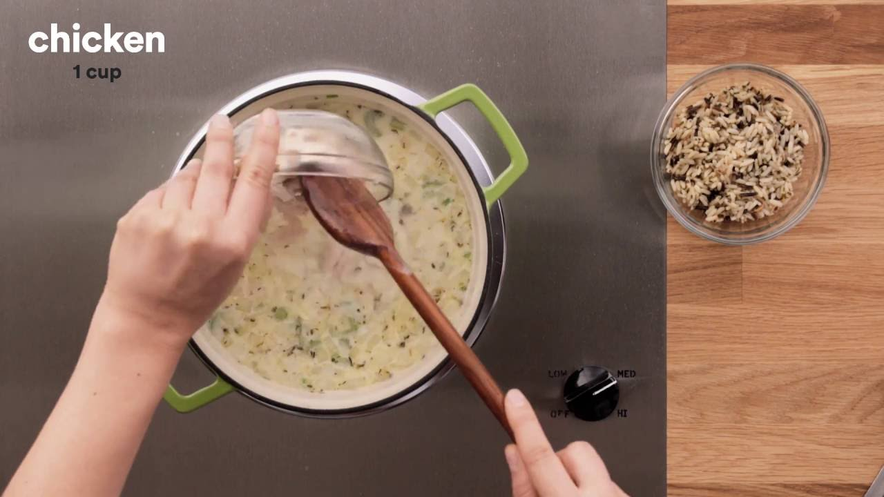 Campbell Kitchen Recipe Campbells Kitchen Creamy Chicken Wild Rice Soup Youtube