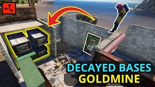 Rich Rust Decayed Bases Can Be A GOLDMINE For SOLO Players Starting FRESH!!