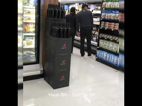 ❤️ Hyun Bin Son Ye Jin In LA Supermarket - Are They Really Dating?
