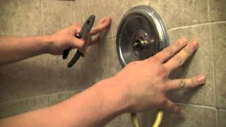 How Repair Moen Shower Faucet Step