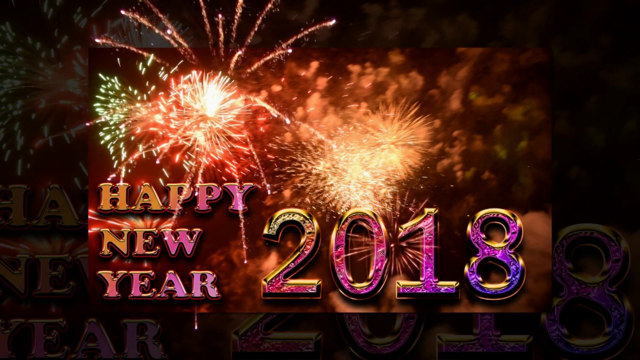 happy new year 2018 video downloadHappy New Year 2018 Wallpapers ...