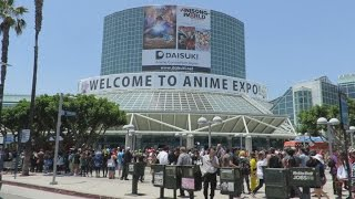 Anime Expo 2016 Vlog Day 1 | Meeting Other YouTubers