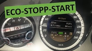 ECO start stop - DER MOTORKILLER?