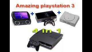 TUTORIAL!  MEMAINKAN GAME PS1/PS2/PSP DI PS3  TESTED 100%