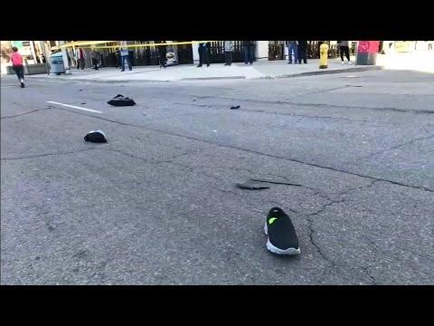 Tat war geplant: Transporter rast in Toronto in Menschenmenge