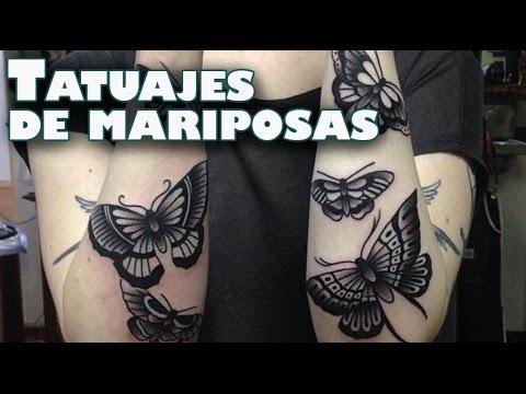 El Significado De Las Mariposas En Los Tatuajes Youtube