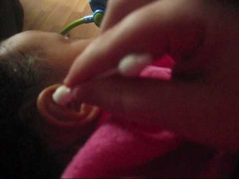 How To Clean Your Baby's Ears.