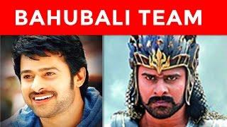 Bahubali Team in Real Life | Bahubali Casts Real Names