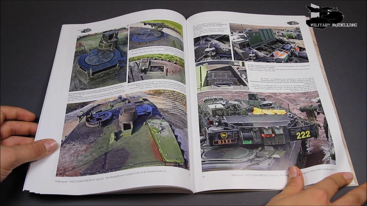 Tankograd 5070 Leopard 2A6 Entwicklung-Beschreibung-Technik Panzer-Modellbau