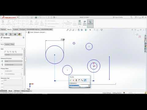 SOLIDWORKS - MIRROR,PATTERN,SNAP,MOVE,RAPID SKETCH, RELATION