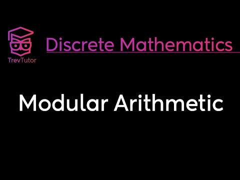 [Discrete Math 1] Modular Arithmetic