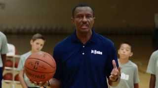 Dwane Casey of the Toronto Raptors Teaches Defensive Stance