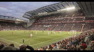 Jamie Carragher speaks about the new Main Stand at Anfield Stadium - KSS
