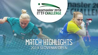 Маргарита Песоцкая vs Georgina Pota | Slovenia Open 2019 (Final)