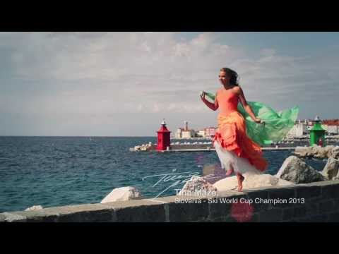 Tina Maze's Invitation to Slovenia ''Piran''