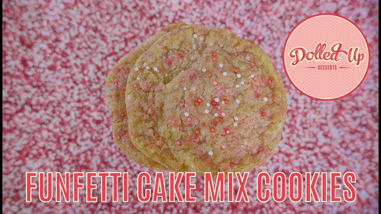 Funfetti Birthday Cake Cookies Vegan Gluten Free Dolled Up