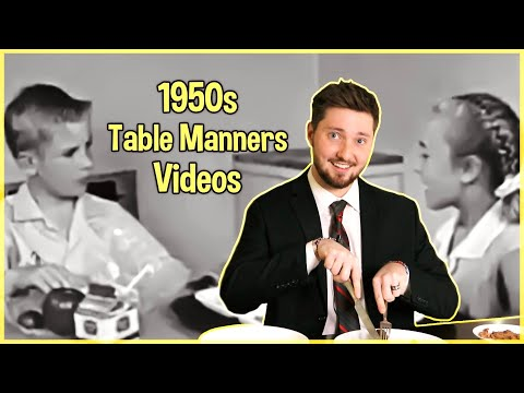 Learning Table Manners from the 1950s