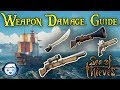 Sea of Thieves Weapon Damage Guide | New Weapon Balancing Update | PC And Xbox