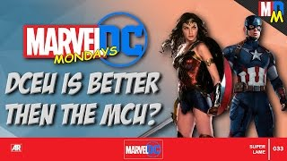 IS THE DCEU OUTPACING MCU? | Marvel vs Dc Mondays