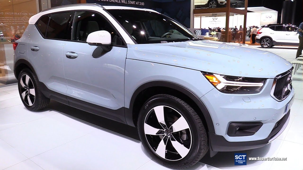 2019 volvo xc40 t8 exterior and interior walkaround debut at 2017 la auto show youtube. Black Bedroom Furniture Sets. Home Design Ideas
