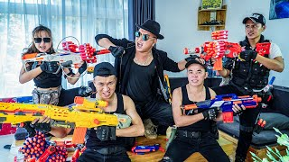 LTT Game Nerf War : Warriors SEAL X Nerf Guns Fight Braum Crazy The Vacation Failed
