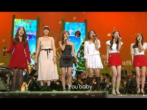 【TVPP】다비치  - All I want for Christmas is You (with 아이유, 린, 임정희, 지선)  @Beautiful Concert