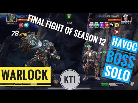 Warlock Destroys Havoc Boss! Final Fight Of Season 12 Just Happened To Be AWESOME!
