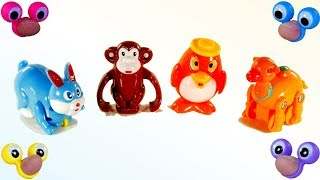 Learn Colors with Animals for Kids | Play with Animals Toys | Fun Learning Video fro Children