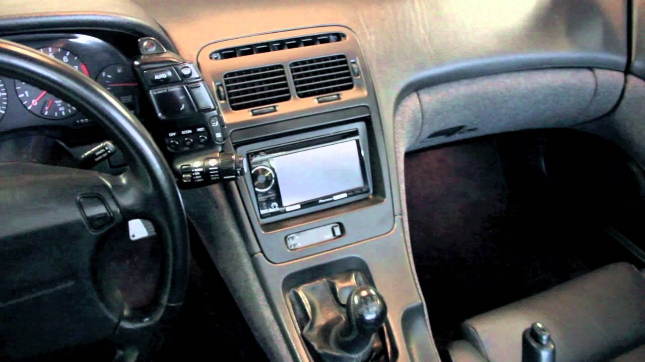 94 300zx Stereo Wiring Diagram Starting Know About 1989 Engine Z Thirtytwo Double Din Radio Bezel For 90 96 Nissan Youtube Rh Com
