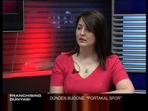 PORTAKAL SPOR- BURCU IŞIK AYKANAT EXPO CHANNEL TV FRANCHISE DÜNYASI RÖPORTAJI
